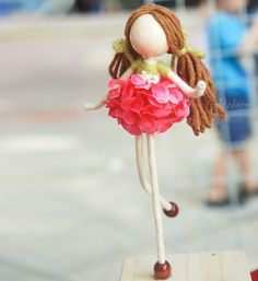 Items similar to Flower Petal Doll, Pink Hydrangea Petal Doll with 2 tresses, Pink Ornament, Hydrangea Princess, No face doll on Etsy Flower Fairies, Flower Petals, Flowers, Scarecrow Doll, Homemade Dolls, Mini Fairy Garden, Pink Hydrangea, Clothespin Dolls, Miniature Crafts