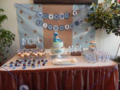 Luke`s and the Cookie Monster table