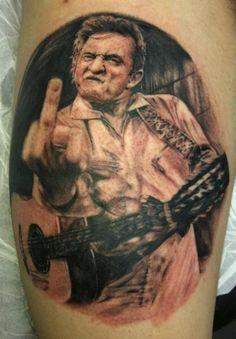 Johnny Cash My best friend wants this tattoo!!!
