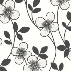 """Found it at AllModern - Elements Freud Blossom Trail 33' x 20.5"""" Floral 3D Embossed Wallpaper"""