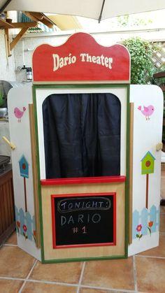Un guiñol para el cumple de Darío | Bricolaje