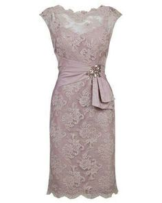Hot Sale Dazzling Lace Bridesmaid Dresses Gorgeous Short Lace Mother Of Bride Dress Bridesmaid Dress, Lace Mother of Bride Dress Bridesmaid Dresses 2018 Bridesmaid Dresses 2018, Women's Dresses, Elegant Dresses, Pretty Dresses, Beautiful Dresses, Fashion Dresses, Formal Dresses, Dress Prom, Dress Wedding