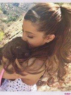 Ariana Grande ♥ Puppy