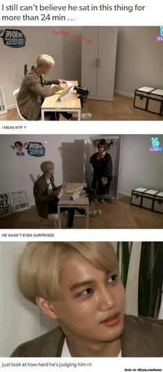 Suho... you're special..