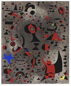 Miro Miro on the Wall: Constellation: Toward the Rainbow Joan Miró (Spanish, Barcelona Palma de Mallorca) Modern Art, Spanish Artists, Art For Art Sake, Metropolitan Museum Of Art, Painting, National Gallery Of Art, Art, Abstract, Joan Miro