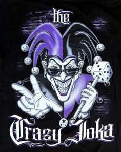 Chicano Tattoos Gangsters, Lettrage Chicano, Chicano Love, Lowrider Drawings, Chicano Drawings, Lowrider Art, Jester Tattoo, Clown Tattoo, Joker Clown