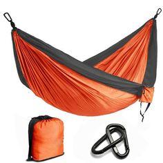 2 People Nylon Parachute Hammock Camping Survival Garden Hunting Leisure Hamac Travel Double Person Hamak