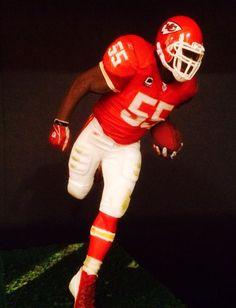 "Dee Ford Kansas City Chiefs Jersey Mcfarlane Football Figure 6"" Loose #McFarlaneToys"