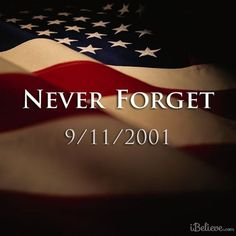 "I know everyone will have a day of reflection today. It has been 15 years and the pain is still as strong. To all those lost that day we will ""Never Forget""......"