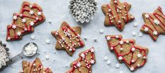 Gluteeniton piparkakkutaikina Delicious Cookie Recipes, Yummy Cookies, Fodmap, Gingerbread Cookies, Gluten Free, Keto, Sweets, Baking, Desserts