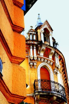 building in Oradea - Romania ...