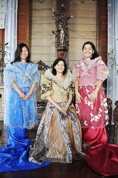 filipiniana dresses panuelo - Google Search