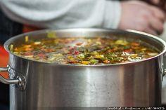 Zupa serowo warzywna