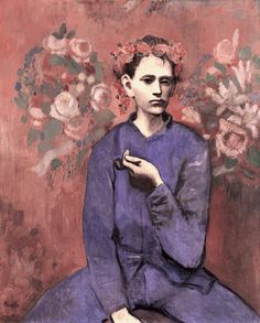 """9th Most Expensive Painting Ever Sold: Pablo Picasso's """"Boy with a Pipe"""" (1905) Sold for $129 million"""