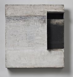 Brian Dickerson - Untitled. 30 x 28 x 9 inches. Oil and mixed media on wood. 2012 - 2014