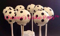 Polka dots cake pops