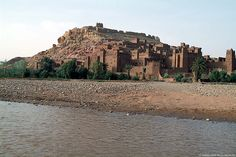 Ait Benhaddou, Morocco. The ancient town was featured in various Hollywood productions.