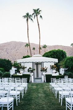Viceroy Palm Springs ceremony site.