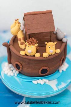 Bjorn's Ark - Cake by Lulubelle's Bakes