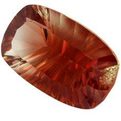 Sunstone Orange Cuivré Rectangulaire 8.25 cts