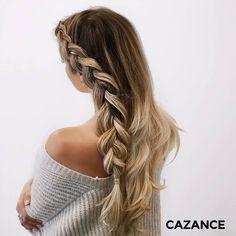 @hayat_habbaz 💋 #forfaitbrushing #forfaitcoiffage #coiffure #coiffagewavy #brushingchic Hair Extensions, Hair Cuts, Hair Color, Dreadlocks, Chic, Hair Styles, Beauty, Weave Hair Extensions, Haircut Designs