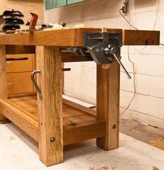 Split-top Roubo workbench - by denovich @ LumberJocks.com ~ woodworking community