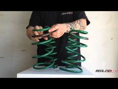 ▶ Review: TEIN STech Scion tC Lowering Springs TEIN SKL52-AUB00 - YouTube