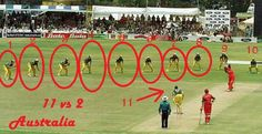Funny Cricket Images 11 players Vs 2 - @FunkyPhotos.org