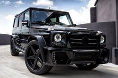 Mercedes-Benz G55 AMG от Wheels Boutique » Автомобили и тюнинг