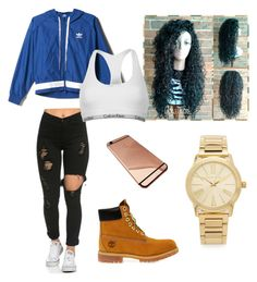 Untitled #1 by adeannnaaa-1 on Polyvore featuring polyvore, fashion, style, adidas, Calvin Klein, Timberland, Michael Kors and clothing