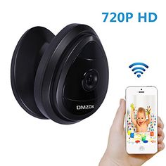 DMZOK 720P WiFi Camera, Baby Camera Monitor, Pet Camera, Built-in Microphone, One- Way Audio, Easy Setup, Remote Monitoring on Mobile App(Day Vision Only) - $89.99
