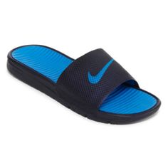 new styles 2ec9c c8d4c 110 CT. T.W. Diamond Double-Heart Pendant Sterling Silver. Nike® Benassi  Solarsoft Mens Slide Sandals ...