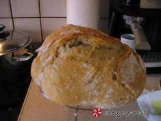 Ψωμί στην γάστρα, τραγανό και αφράτο #sintagespareas