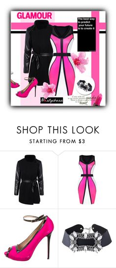 """NASTYDRESS-IV/14"" by marinadusanic ❤ liked on Polyvore featuring Alexander McQueen and Urban Decay"