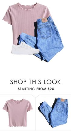 I'm still screaming that I need you by flowersgalore on Polyvore featuring moda, Levi's and Vans