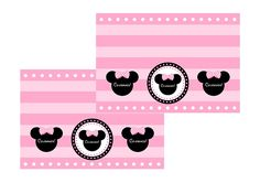 free minnie mouse printable treat toppers
