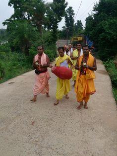 Rahasa Kirtan during Yajna at Jajpur Biraja Khsetra performed in June 2014 Durga, June, India, Indie, Indian