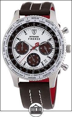 DETOMASO Firenze - Cronógrafo Forza Di Vita para hombre, multicolor de  ✿ Relojes para hombre - (Gama media/alta) ✿