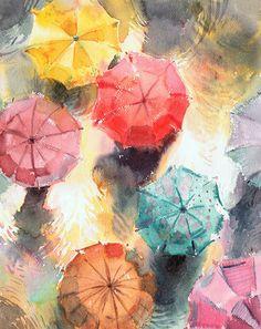 Rain by kalinatoneva.deviantart.com on @deviantART