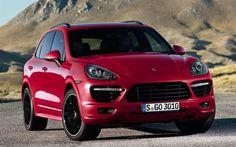 Porsche Cayenne GTS, SUVs, luxury cars, tuning, 958, red Cayenne, Porsche