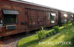 Dormir dans un train à Two Harbors, Etats-Unis : http://www.trip85.com/2011/02/20/dormir-dans-un-train-%C3%A0-two-harbors-etats-unis/