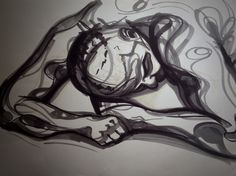 Life Drawing 2 by Tailored Cobbler, via Behance