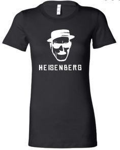 Small Black Juniors Heisenberg Breaking Bad Inspired T-Shirt