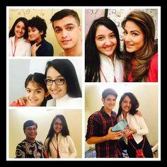 Met dem aftr long tym.. Feel nostalgic .. #Naira #yrkkh #ashnoor #naksh #kathik #mishti #hina #akshara #yerishtakyakehltahai #starplus #instapic