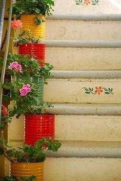 Plant chandelier hangers garden decor flower pot holder for Outdoor curtain drain