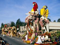 TOURNAMENT OF ROSES PARADE   Beadboard UpCountry: The Tournament of Roses.....