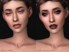 Sims 4 CC's - The Best: Mirabelle Skin Overlay HQ by Ms Blue