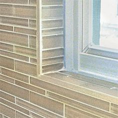 tile around bathroom window | Shower windows need to be waterproofed, with tiled sills sloped to ...