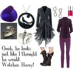 """""""Nymphadora Tonks"""" by favourite-fictional-fashions on Polyvore"""