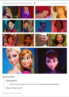 I say Merida because I can still see similar features in the two.